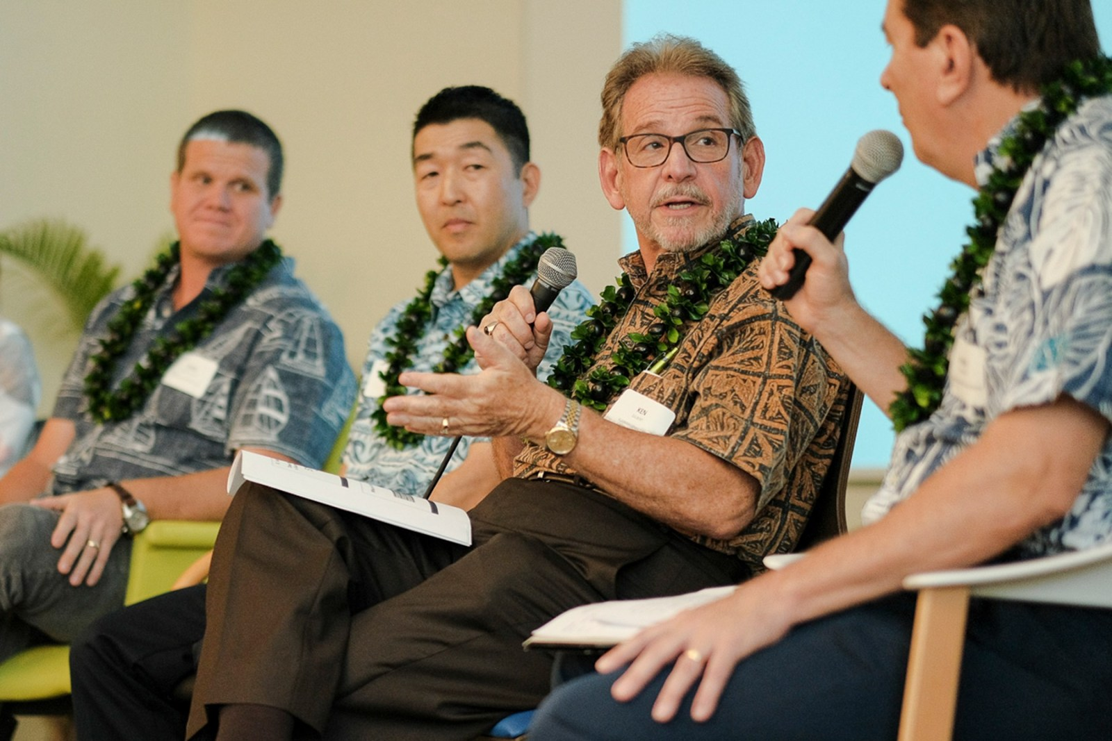 Ken Gilbert on Honolulu panel discussing Family Business and Consulting in Honolulu, Hawaii